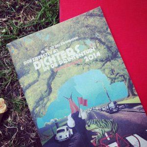 Het gedicht 'Appel' is opgenomen in de bundel Dichters in de Prinsentuin 2014